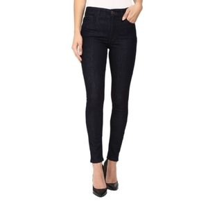Joe's Jean's Black honey skinny leg jeans